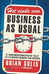 Het einde van business as usual - Brain Solis (ISBN 9789491560507)