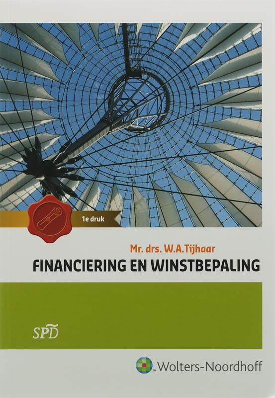 Financiering en winstbepaling hoofdboek