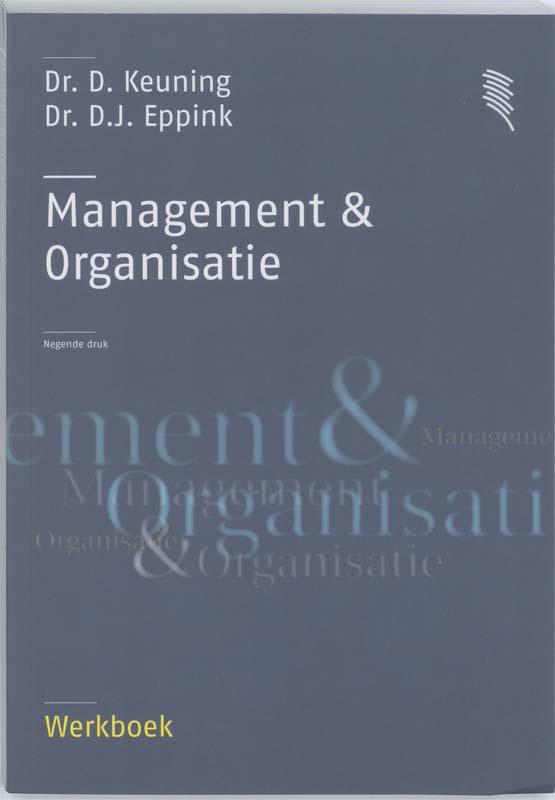 Management & organisatie Werkboek