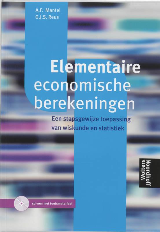 Elementaire economische berekeningen
