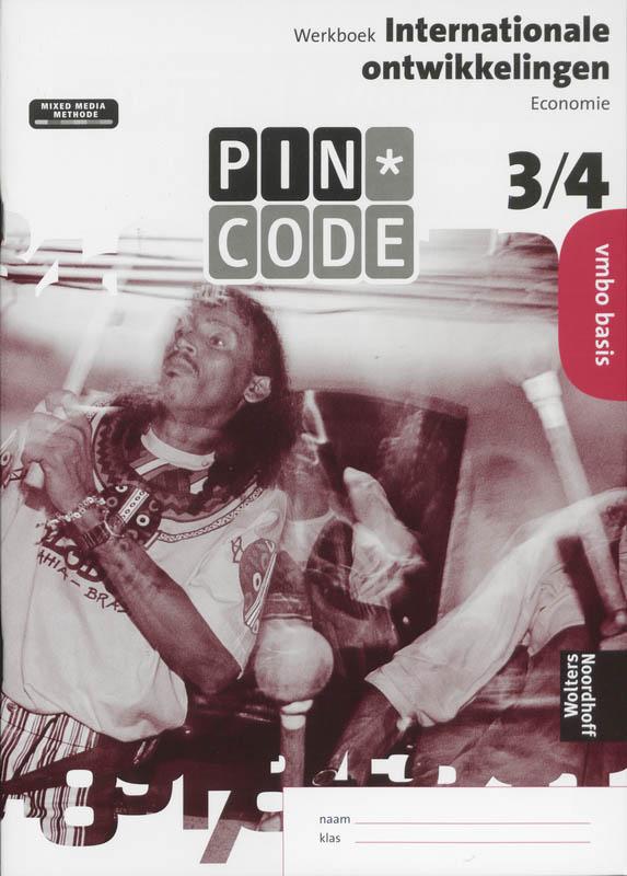 Pincode 3/4 vmbo basis Werkboek