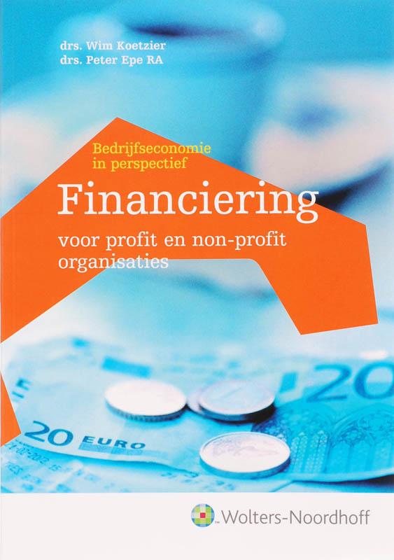Financiering voor profit-en non profit organisaties