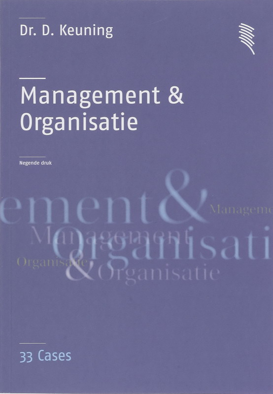Management & Organisatie 33 Cases