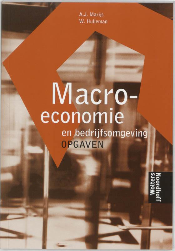 Macro-economie en bedrijfsomgeving Opgaven