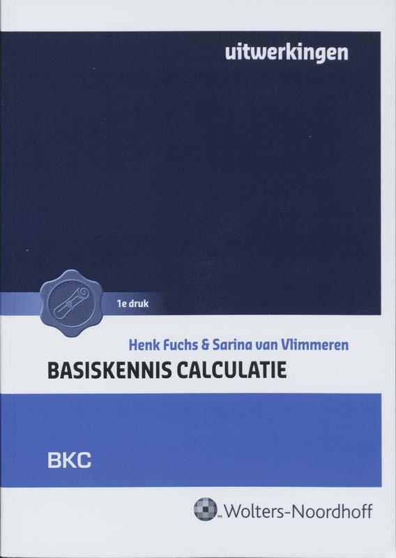 Basiskennis calculatie Uitwerkingen