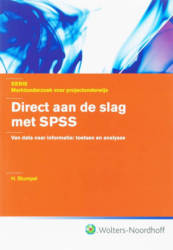 Direct aan de slag met SPSS