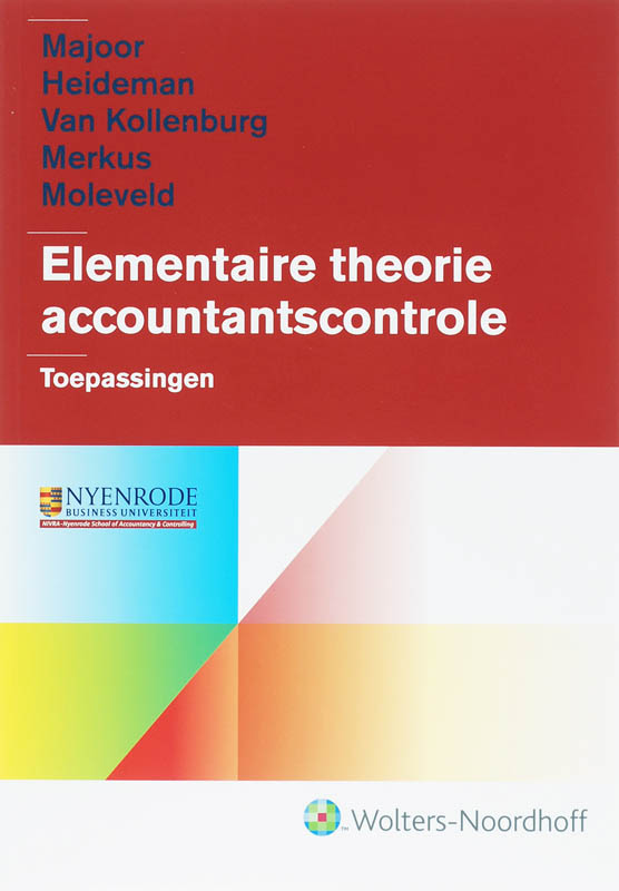 Elementaire theorie accountantscontrole Toepassingen