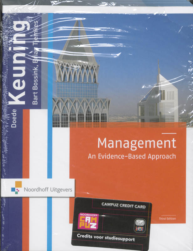 Management an evidence-based approach 11