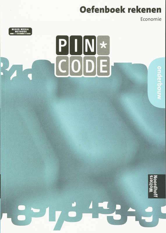 Pincode Oefenboek rekenen onderbouw