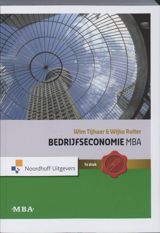 Bedrijfseconomie MBA Hoofdboek