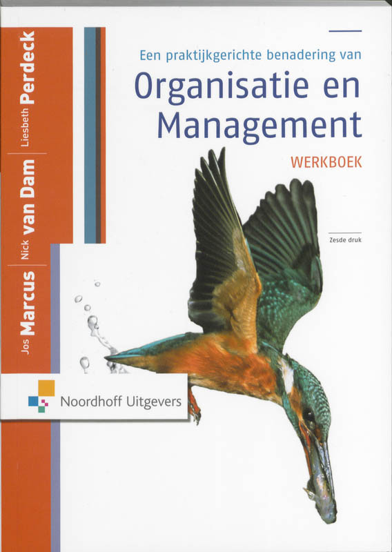 Organisatie en management Werkboek